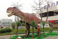 Realistic waterproof Tyrannosaurus Animatronic Dinosaur For Exhibition