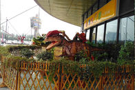 Interactive Animatronic Ride Dinosaur Display For Entertainment Mall